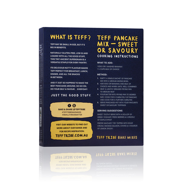 Teff Tribe - Pancake Mix (350g)