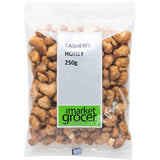 The Market Grocer Cashews Honey 250g