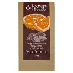 Delicaseys Chocolates Dark Delight 140g , Grocery-Confection - HFM, Harris Farm Markets  - 1