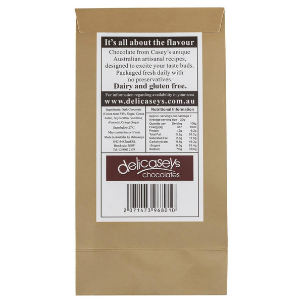Delicaseys Chocolates Dark Delight 140g , Grocery-Confection - HFM, Harris Farm Markets  - 2