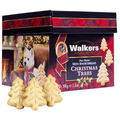 Walkers - Shortbread Mini - Christmas Trees (23 pieces, 100g)
