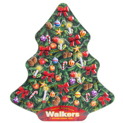 Walkers - Shortbread - Christmas Tree Tin (225g)