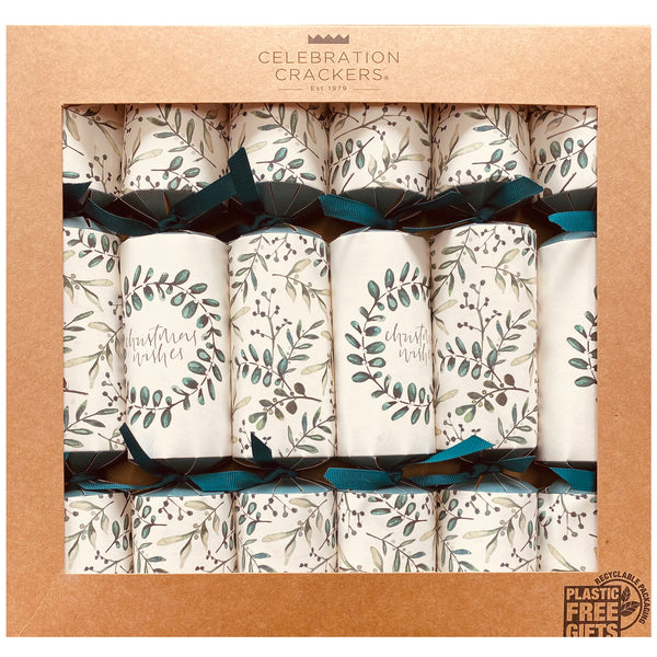 Botanical Leaves Celebration Crackers | Harris Farm Online