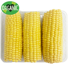 Corn Sweet Organic Prepacked Pack of 2-3