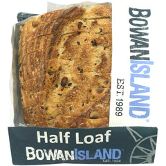Bowan Island - Bread Sourdough - Soy & Linseed (Half Loaf, 400g)