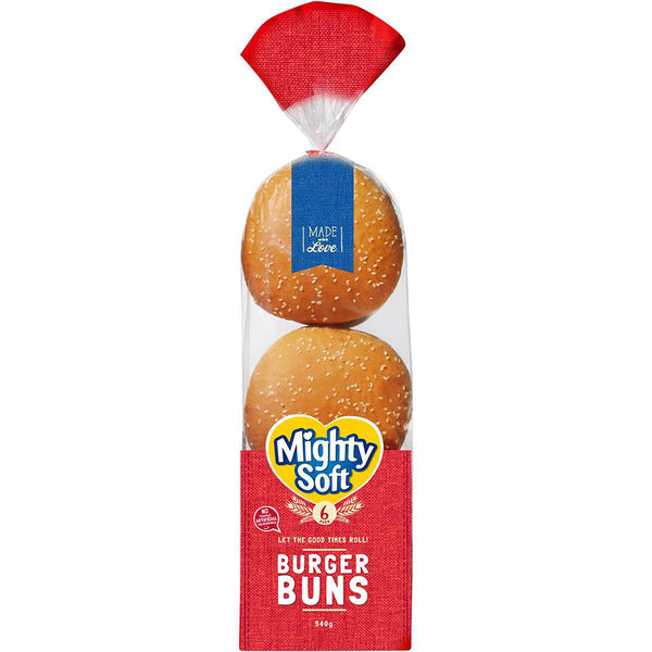 Mighty Soft Burger Buns | Harris Farm Online