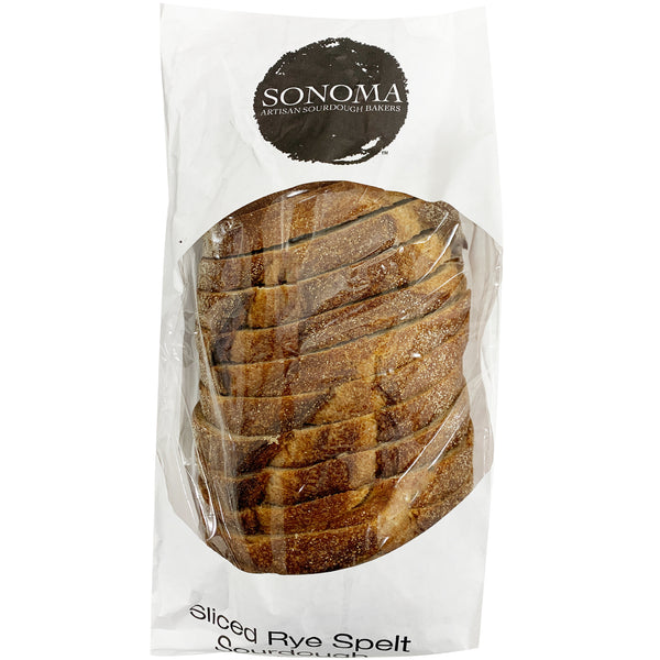 Sonoma Sliced Rye Spelt Sourdough | Harris Farm Online