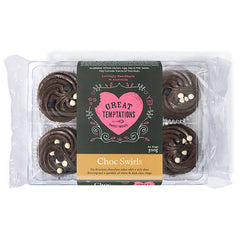 Great Temptations Choc Swirls | Harris Farm Online