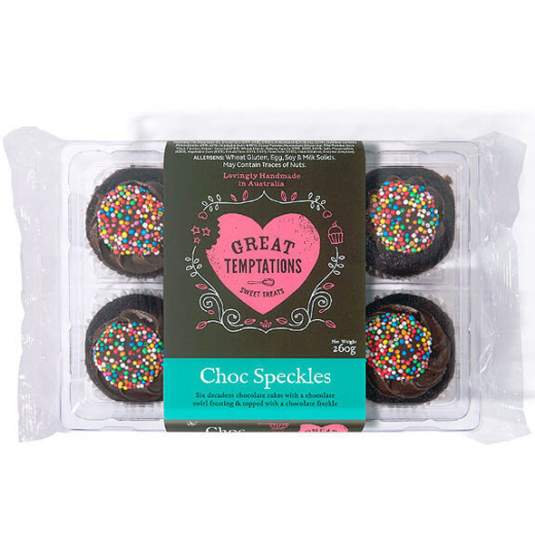 Great Temptations Choc Speckles | Harris Farm Online