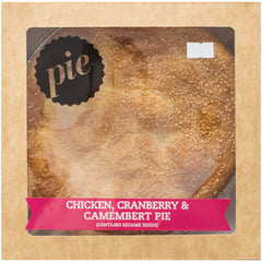 Micks Bakery Pie Chicken, Cranberry and Camembert | Harris Farm Online