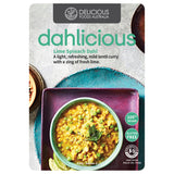 Dahlicious - Vegan Meal - Lime & Spinach Dahl (500g)