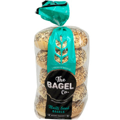 The Bagel Co Multi Seed Bagels x5 565g
