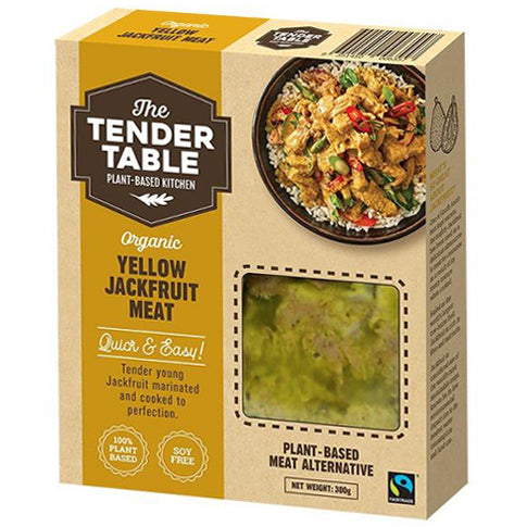 The Tender Table Organic Yellow Jackfruit Meat 300g