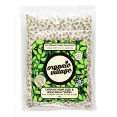 Organic Village - Tempeh - Organic Hemp Seed and Mung Bean (300g)