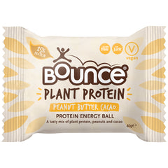 Bounce Plant Protein Energy Ball Peanut Butter Cacao | Harris Farm Online