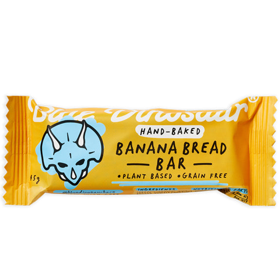 Blue Dinosaur Banana Bread Paleo Bar | Harris Farm Online