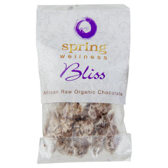 Spring Wellness Bliss Artisan Raw Organic Chocolate 24g , Grocery-Crackers - HFM, Harris Farm Markets  - 1