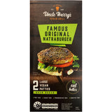 Uncle Harry's - Natraburger - Original (2 Large Vegan Patties, 240g)