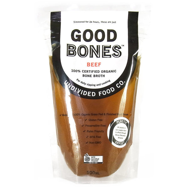 Good Bones - Beef Bone Broth - Organic (500mL)