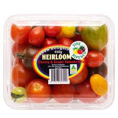 Tomatoes Heirloom - Cherry and Grape Tomato Mix (450g punnet)