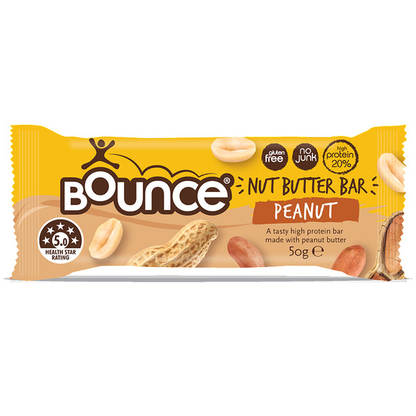 Bounce - Nut Butter Bar - Peanut (50g)