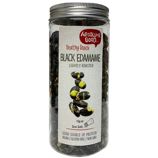 Absolute Good Black Edamame with Sea Salt 150g