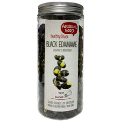 Absolute Good - Black Edamame - Lightly Roasted Sea Salt (150g)