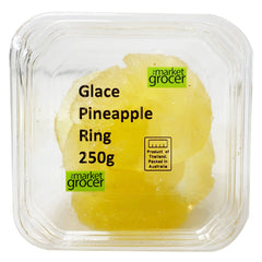 The Market Grocer - Glace Pineapple Ring (250g)