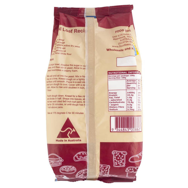 Golden Shore Special White Flour 1kg , Grocery-Cooking - HFM, Harris Farm Markets  - 2