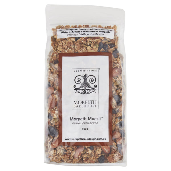 Morpeth Muesli Deluxe 500g , Grocery-Cereals - HFM, Harris Farm Markets  - 1