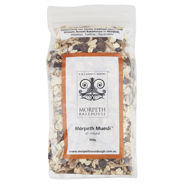 Morpeth Muesli Natural 500g , Grocery-Cereals - HFM, Harris Farm Markets  - 1