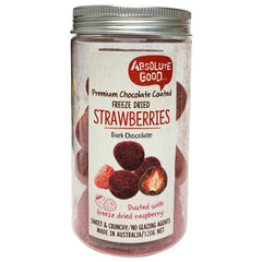 Absolute Good Dark Chocolate Dusted Strawberries 120g