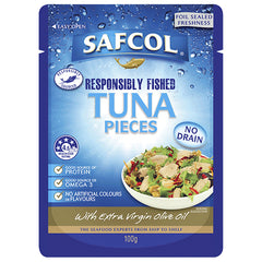 Safcol Tuna Pieces Extra Virgin Olive Oil 100g
