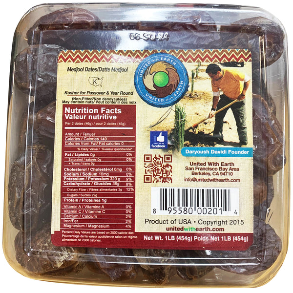 Dates - Medjool Dates - Packet (454g) Natural Delights