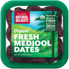 Dates - Organic Medjool Dates - Packet (227g) Natural Delights