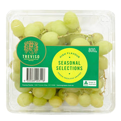 Grapes White Seedless 800g