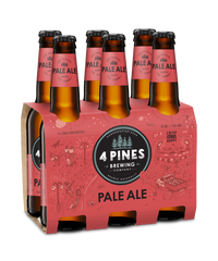 4 Pines Brewing Pale Ale 6 x 330ml