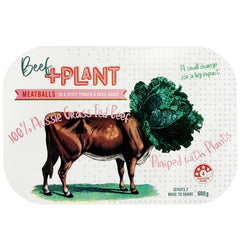 Plus Plant Beef Meatballs | Harris Farm Online