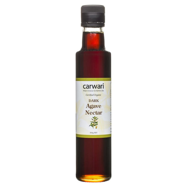 Sugar Agave Nectar Dark 350g , Grocery-Condiments - HFM, Harris Farm Markets  - 1