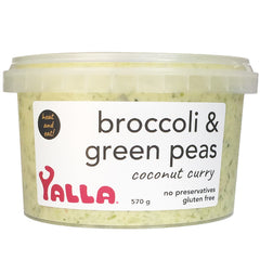 Yalla - Broccoli & Green Peas - Coconut Curry | Harris Farm Online