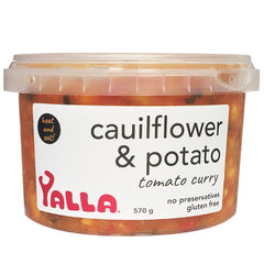 Yalla - Cauliflower & Potato - Tomato Curry  | Harris Farm Online