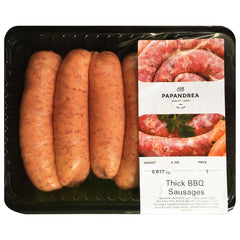 Sausages - Thick BBQ (500-700g) Joe Papandrea