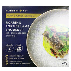 Flinders and Co Roaring Forties Lamb Shoulder with Green Goddess Dressing | Harris Farm Online