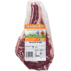 Tara Valley Beef Rib Eye on the Bone | Harris Farm Online