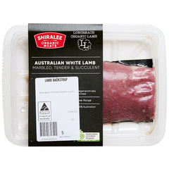 Lamb - Backstrap - Organic (150-300g) Shiralee
