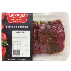 Shiralee Organic Lamb Leg Butterflied - Herb | Harris Farm Online