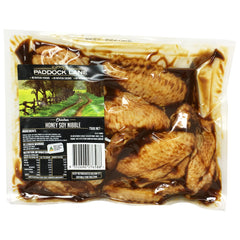 Chicken - Nibble - Honey Soy (750g) Paddock Lane