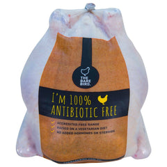 Chicken - Whole - Antibiotic FREE (1.2kg-1.8kg) The Bare Bird