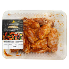 Chicken - Wings Sriracha Sauce Marinated - Free Range (800g-1.1kg) Hazeldenes