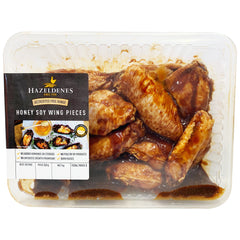 Chicken - Wings Honey Soy Marinated - Free Range (800g-1.1kg) Hazeldenes